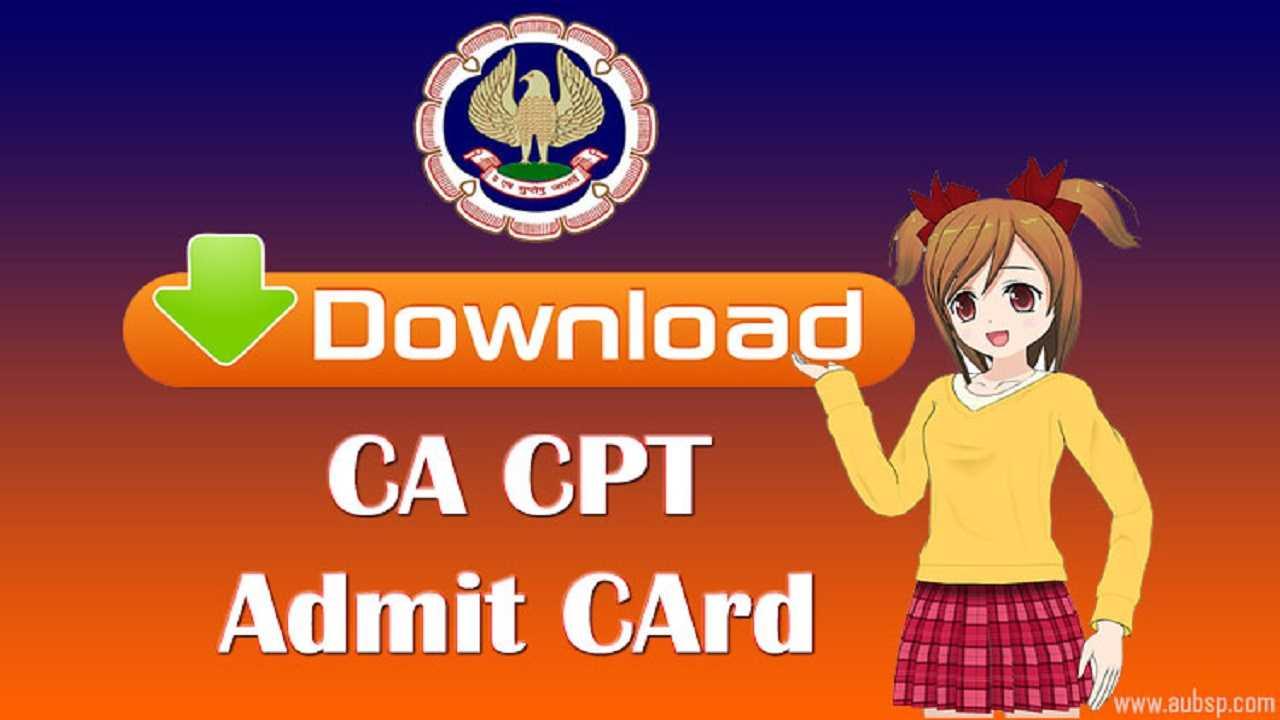 download ca cpt admit card june 2016 examination