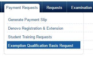 CS Exemption Basis