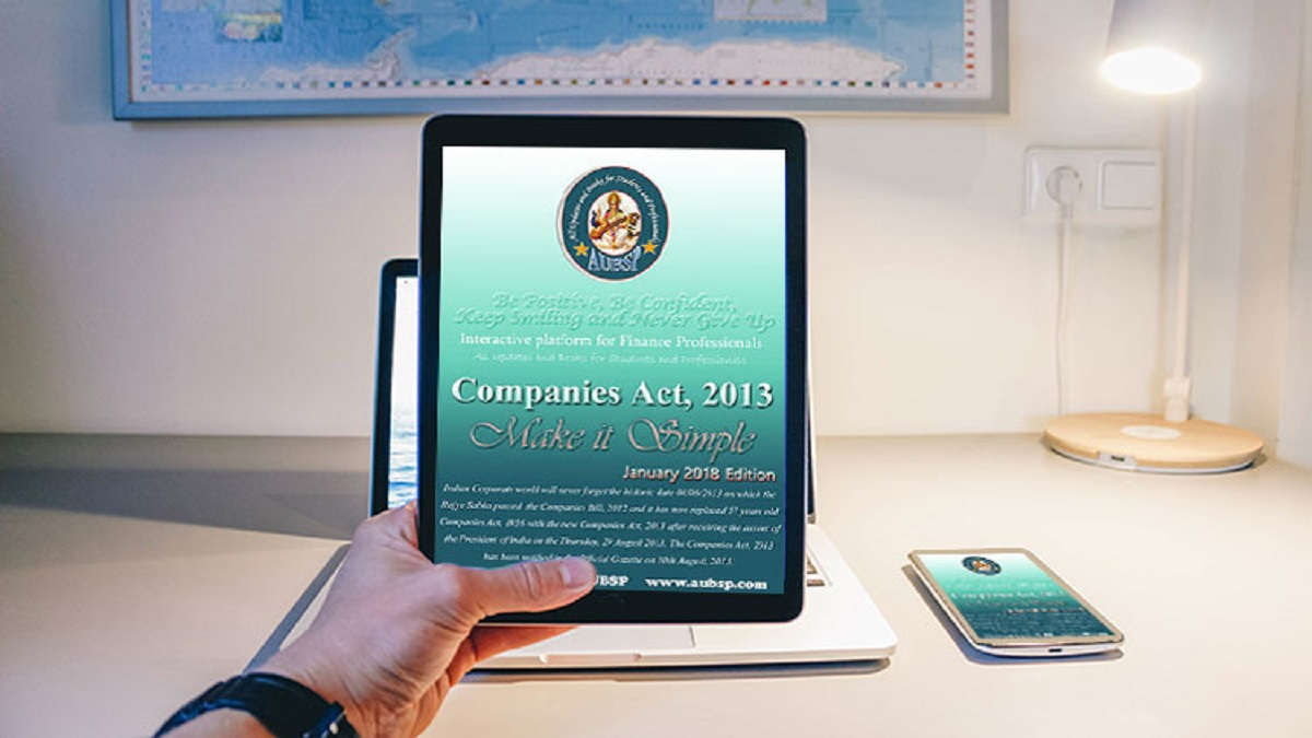 E-Book on Companies Act 2013