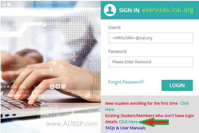 Create or login to SSP Portal