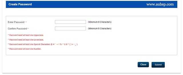 ICSI set New Password